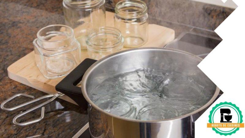 stérilisation bocaux cocotte-minute