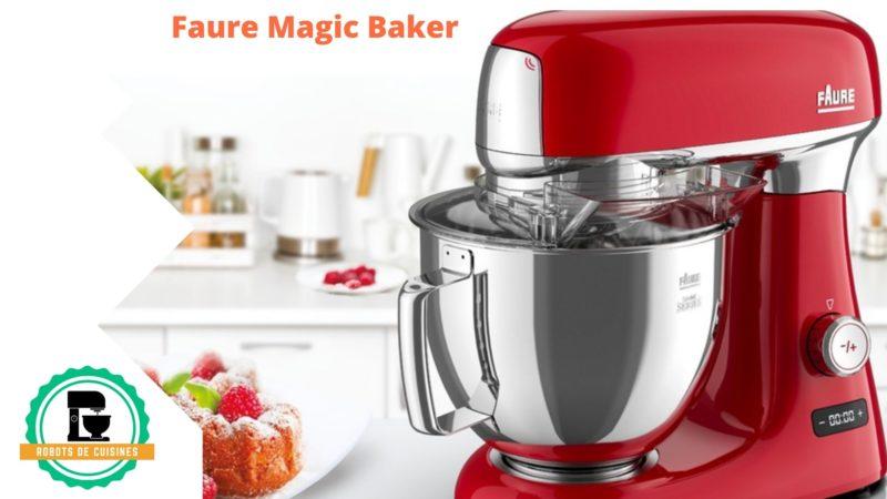 Excellente robot pâtissier Faure Magic Baker